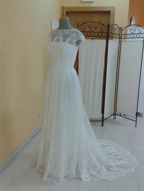 He aquí el vestido.