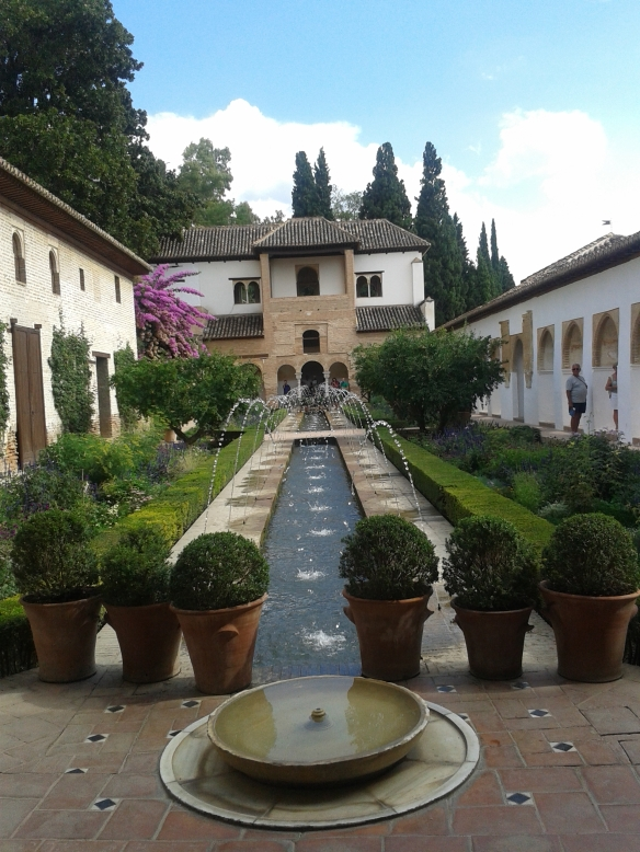 Jardines del Palacio del Generalife.