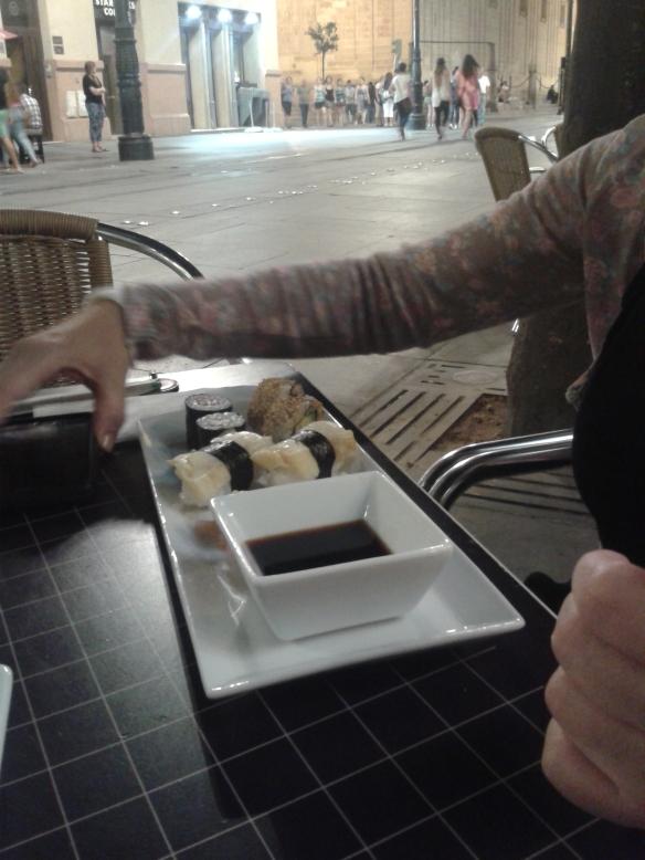 De tapas por Sevilla, como podéis ver cada vez son más sofisticads