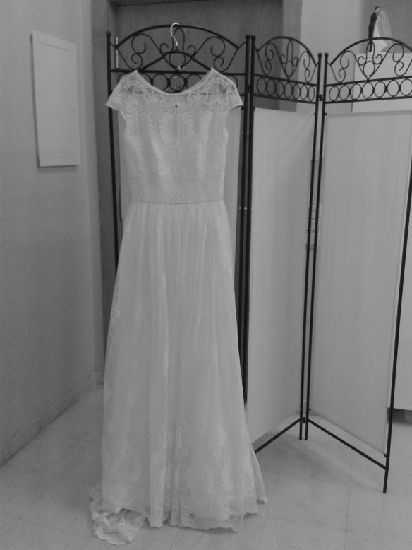 Creo que cualquier novia estaría guapísima con este vestido.
