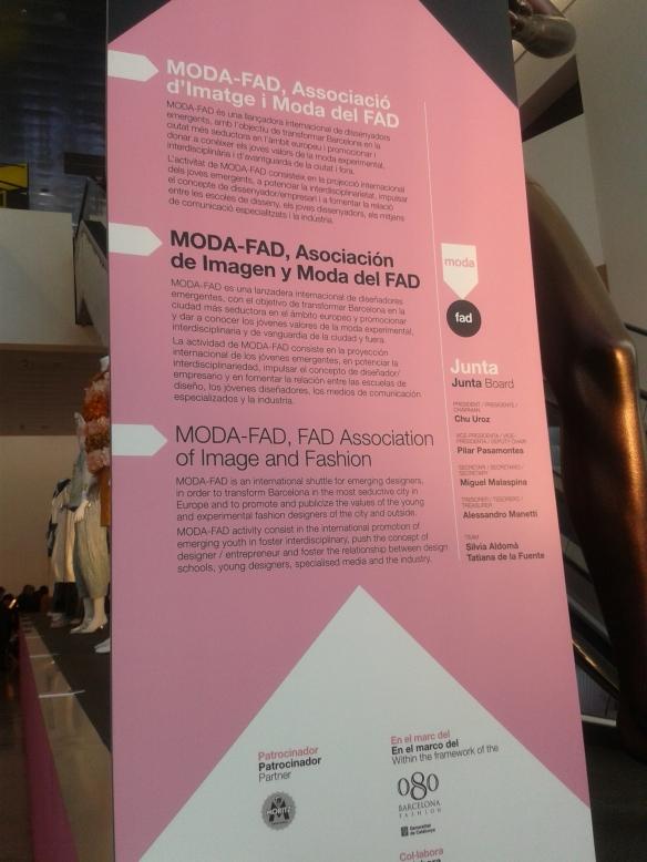 Una exposición de Jóvenes diseñadores.