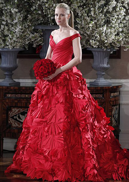 Vestido de Ramona Keveza.