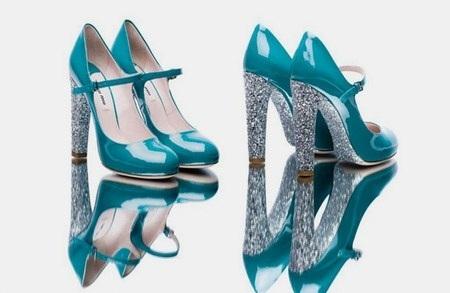 Zapatos de Miu Miu.