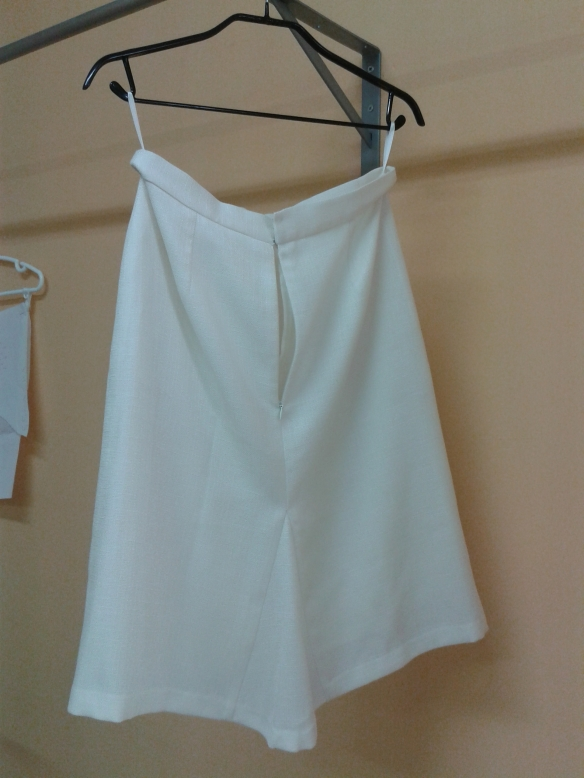 Esta es la falda.