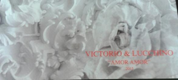 Invitación de Victorio&Luchino.